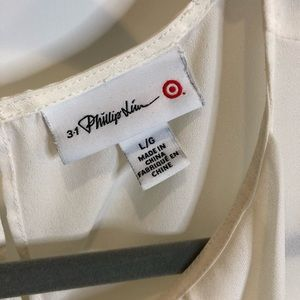3.1 Phillip Lim for Target Tops - 3.1 Philip Lim for Target Cream Sleeveless Top